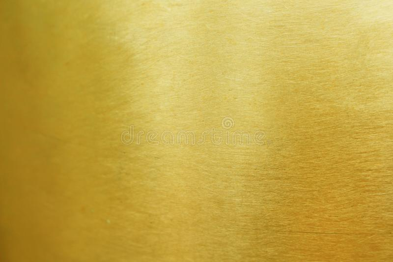 Modelos de cobre amarillo textura, extracto del oro del metal para el fondo imagenes de archivo