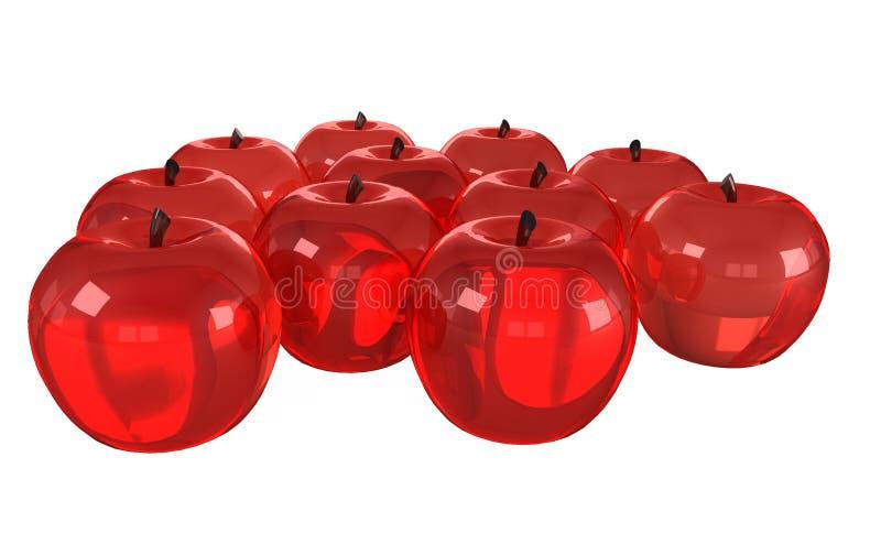 Modelos de cristal de frutas stock de ilustraci n for Frutas de cristal