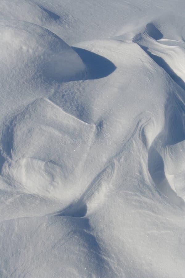 Modelos de la nieve foto de archivo libre de regalías