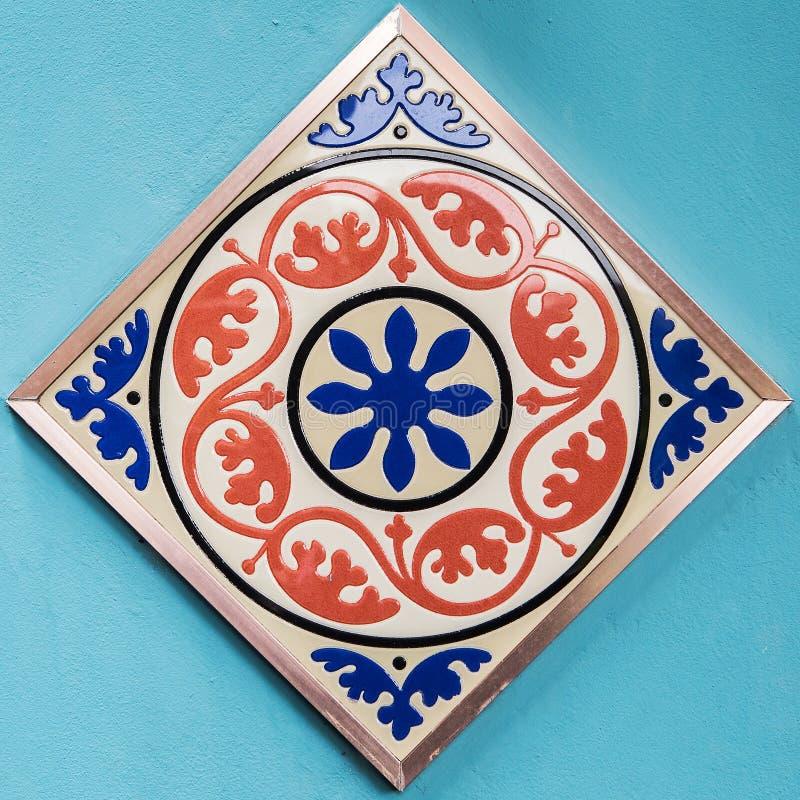 Modelos de las baldosas cerámicas imágenes de archivo libres de regalías