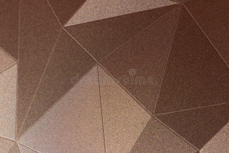 modelos en el estilo de triángulos foto de archivo