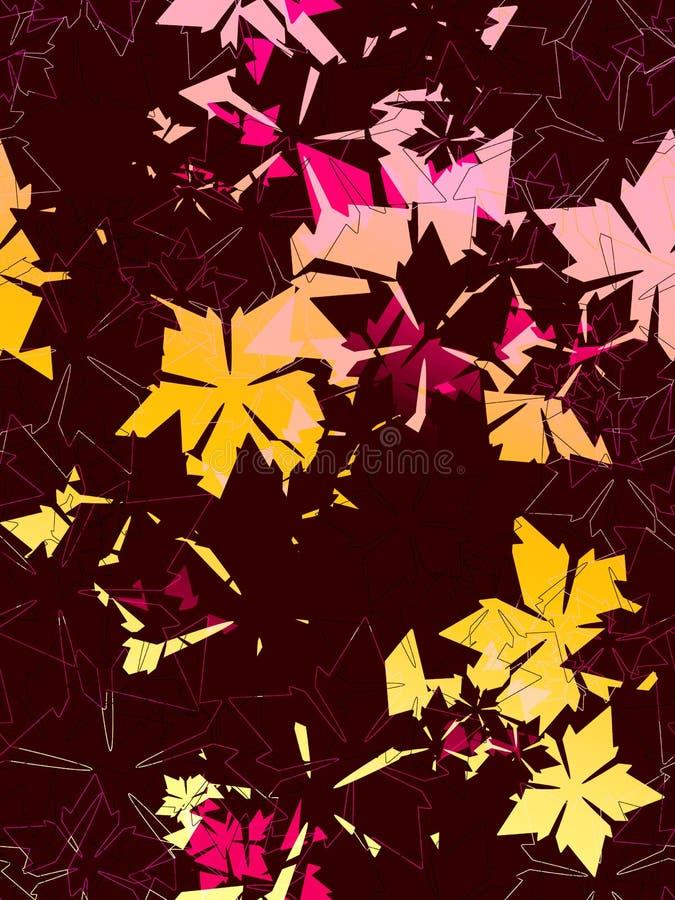 Modelos florales contemporáneos libre illustration