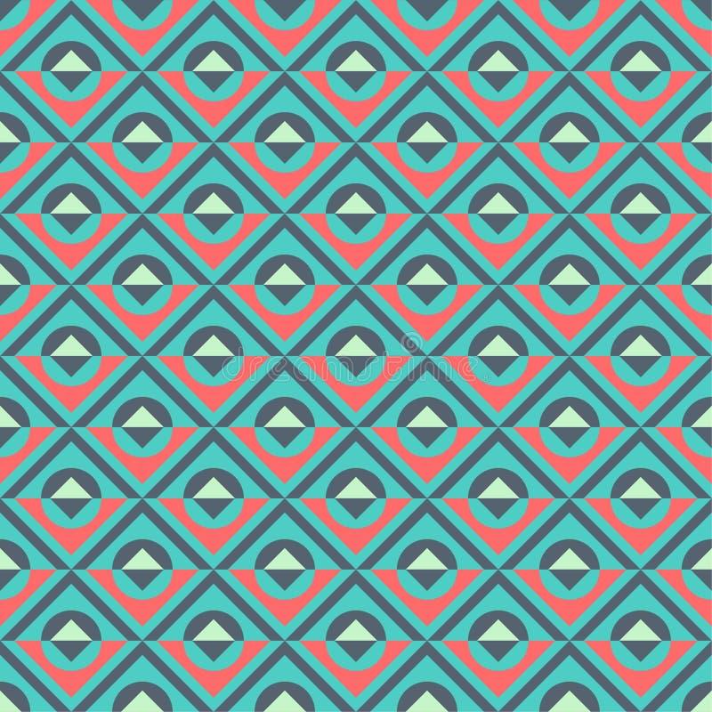 Modelos geométricos ilustración del vector