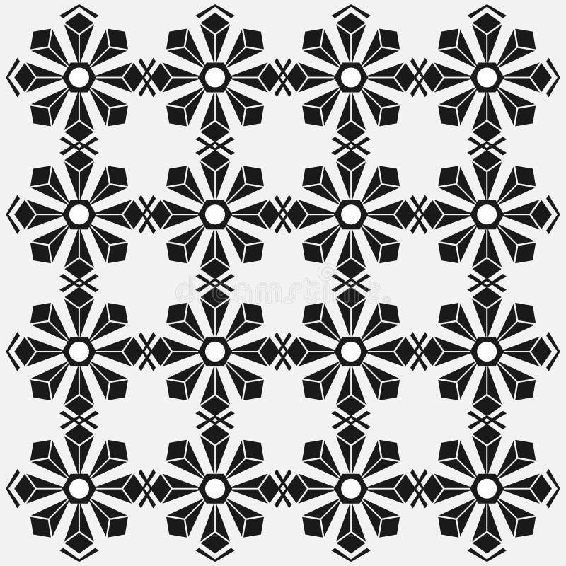 Modelos geométricos del hexágono, fondo abstracto minimalista stock de ilustración