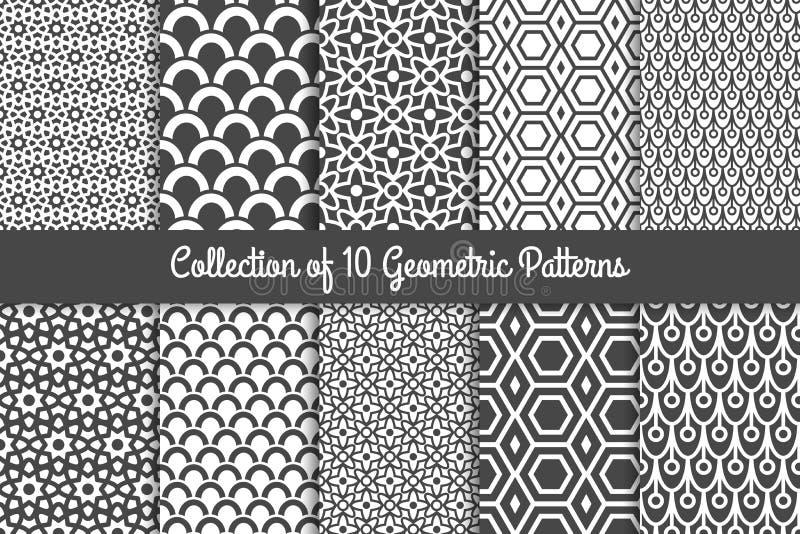Modelos geométricos modernos libre illustration