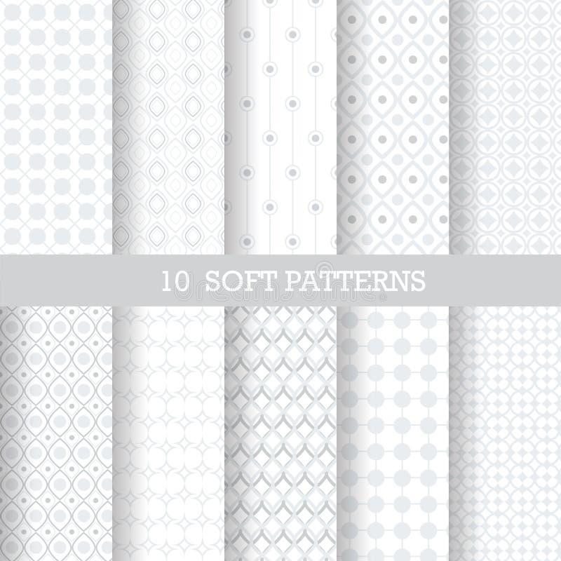 Modelos grises suaves ilustración del vector