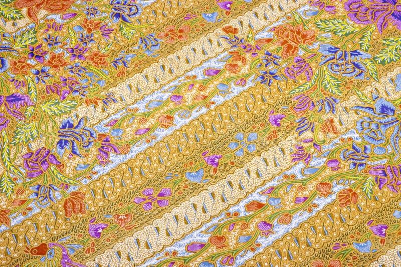 Modelos hermosos del batik imagen de archivo libre de regalías