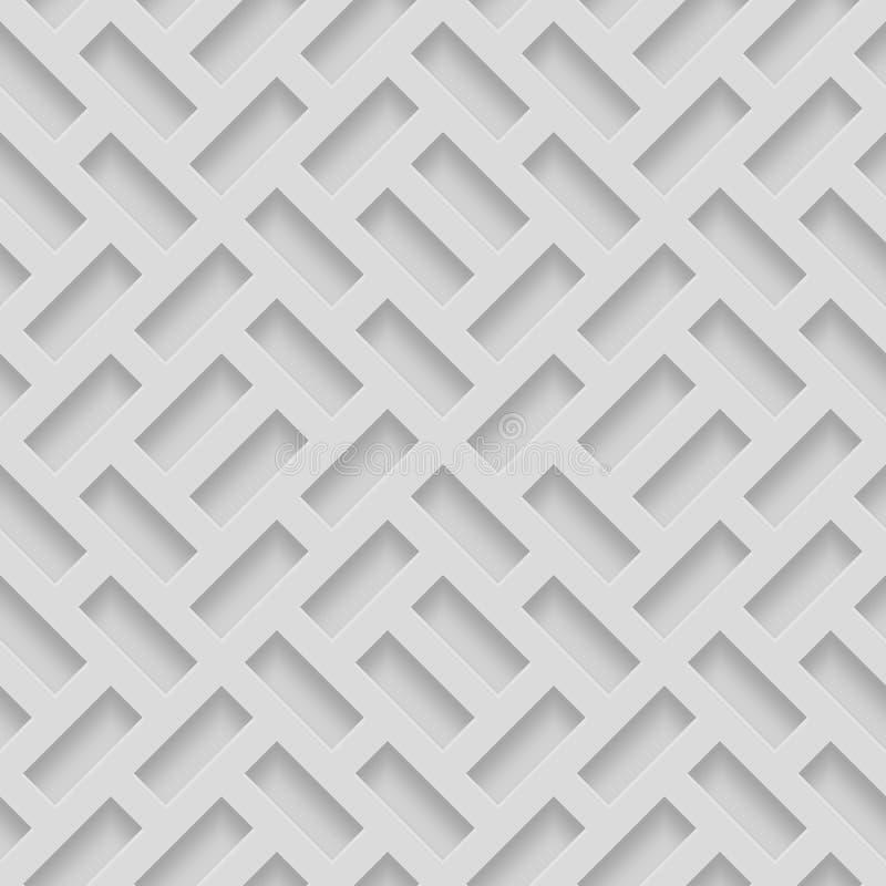 Modelos inconsútiles con formas biseladas Fondo monocromático de Pavetment del Grayscale abstracto fotografía de archivo
