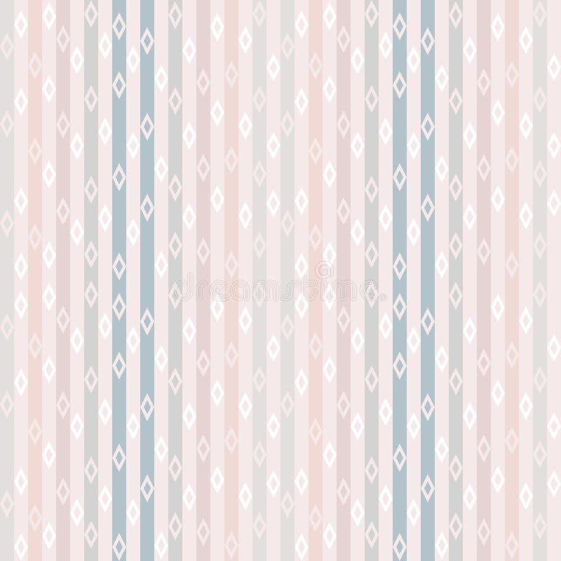 Modelos inconsútiles del vector con pendiente, las líneas y los puntos Ornamento abstracto simple para la materia textil, impresi stock de ilustración