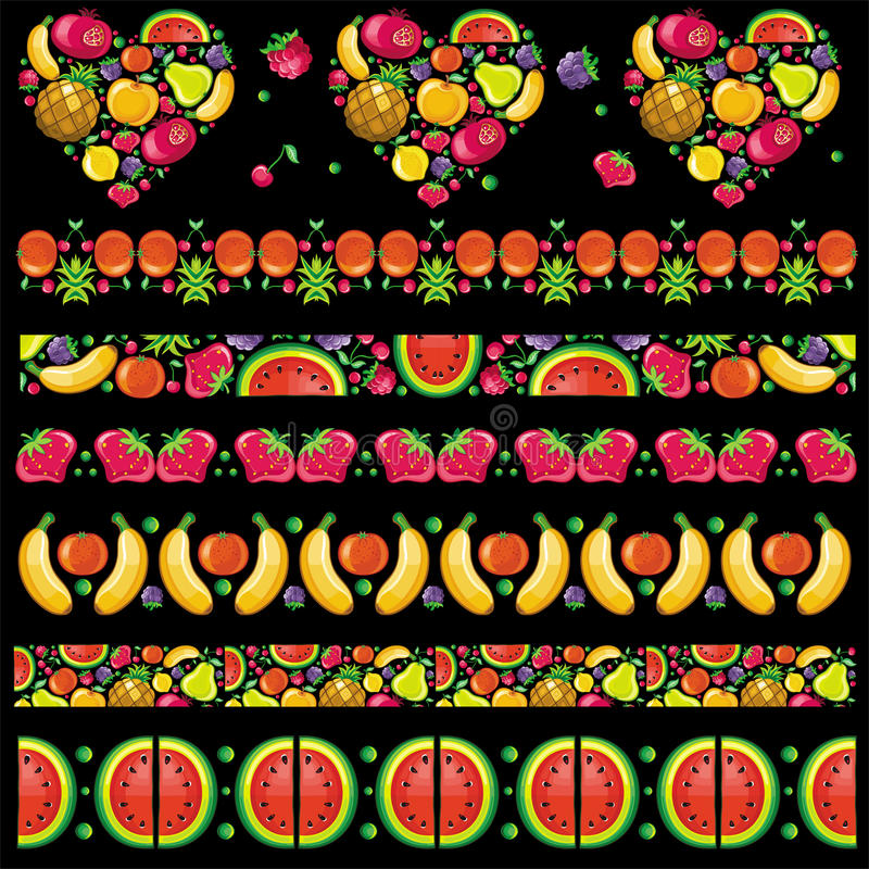 Modelos jugosos con sabor a fruta libre illustration