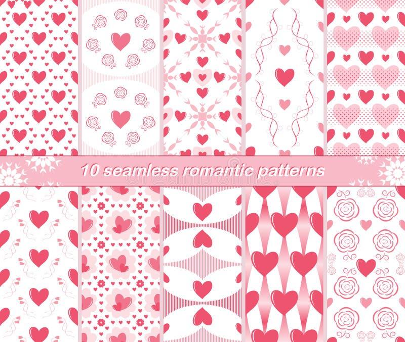 10 modelos románticos inconsútiles libre illustration