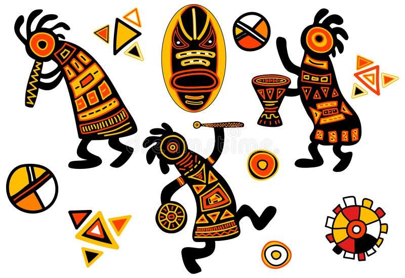Modelos tradicionales africanos del vector