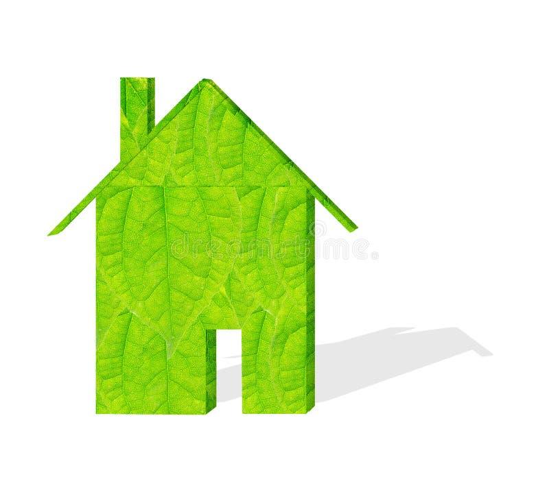 Modelos verdes del edificio foto de archivo