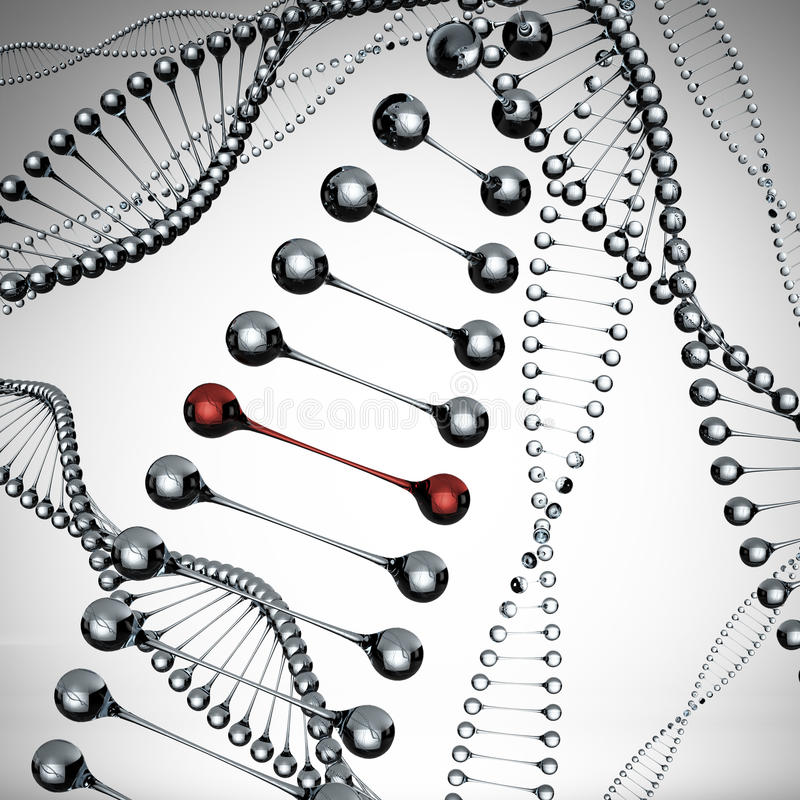 Download Models of the dna molecule stock illustration. Image of life - 27358779