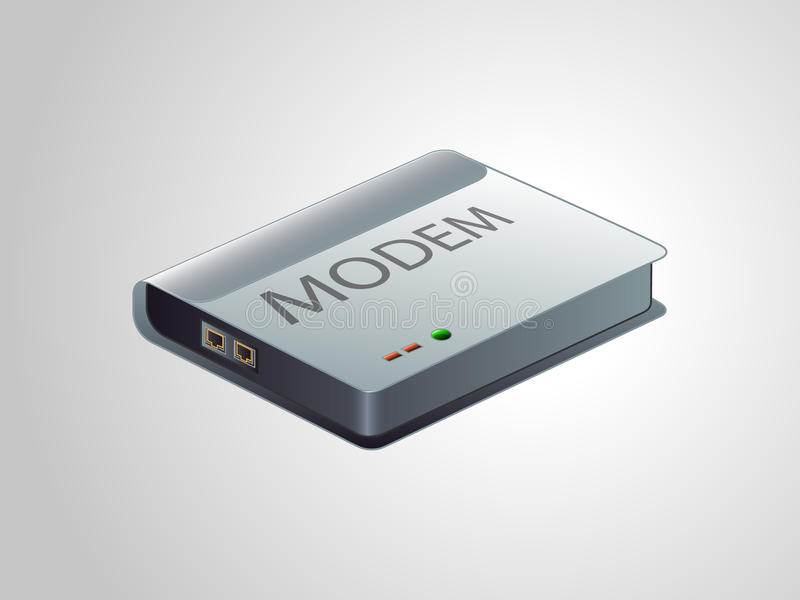 Modem Royalty Free Stock Images