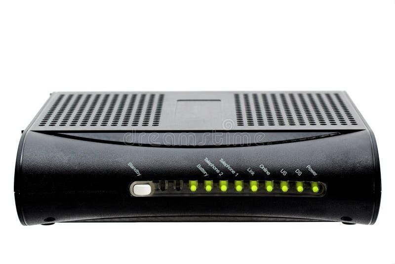Modem câblé images stock