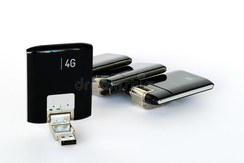 Modem della radio di USB GPRS 3G 4G fotografia stock