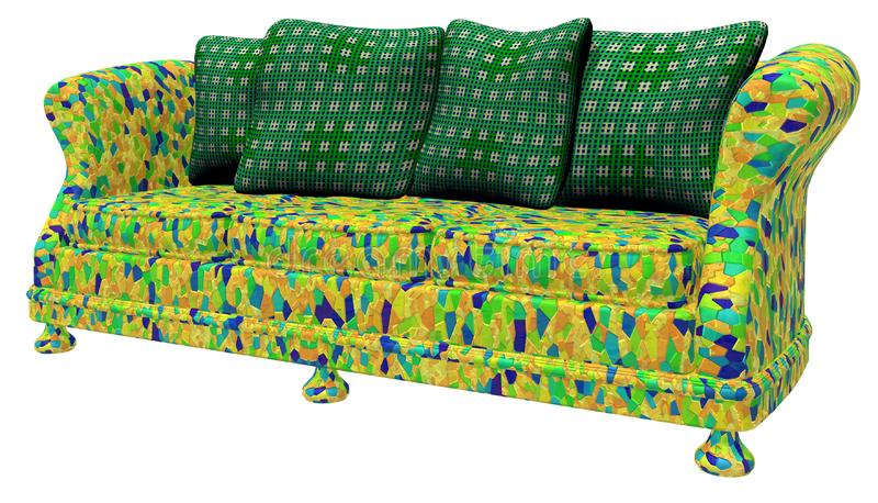 Modem Furniture - Sofa Stock Photo
