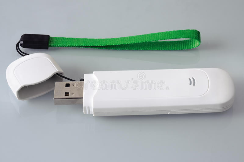 Modem USB royalty-vrije stock afbeelding