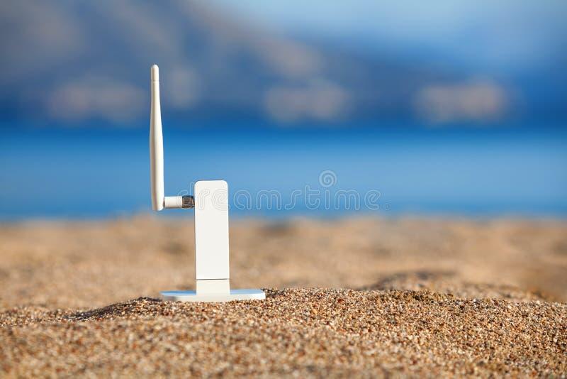 modem Wi-fi arkivbild