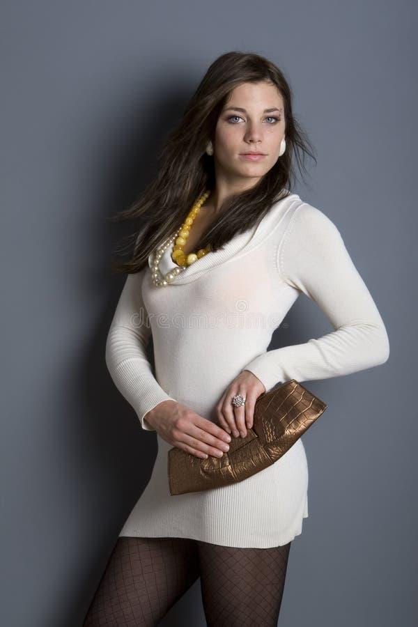 modemodell royaltyfri bild