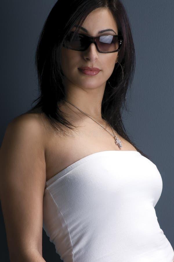 modemodell royaltyfri fotografi