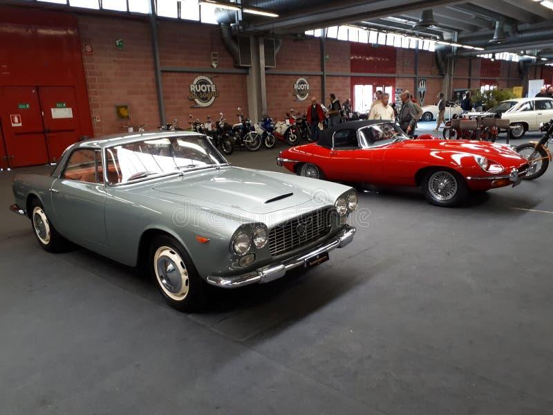 Modena-Automobilausstellungsoldtimer 2017 stockfoto