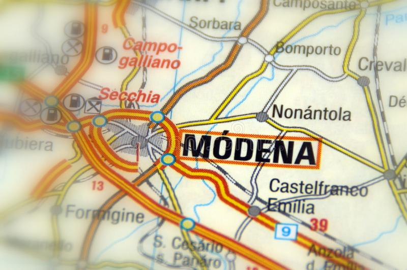 Modena Province Of Modena Italy Europe Stock Image Image of