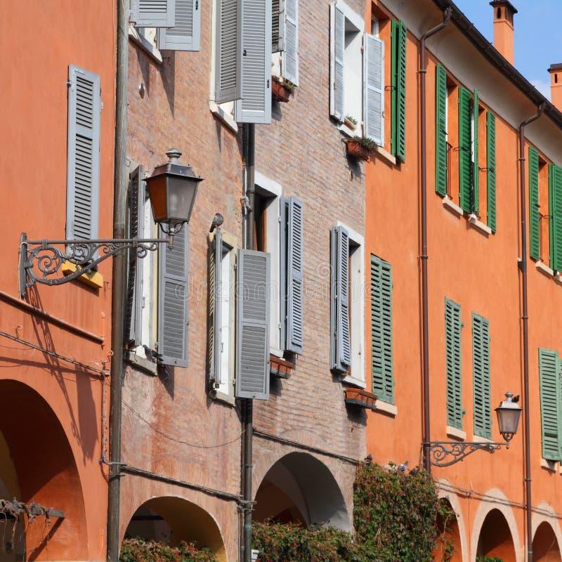 Modena, Italien stockfotografie