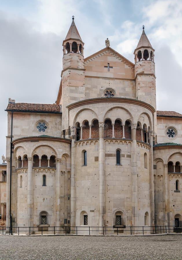 Modena katedra, Włochy obraz royalty free