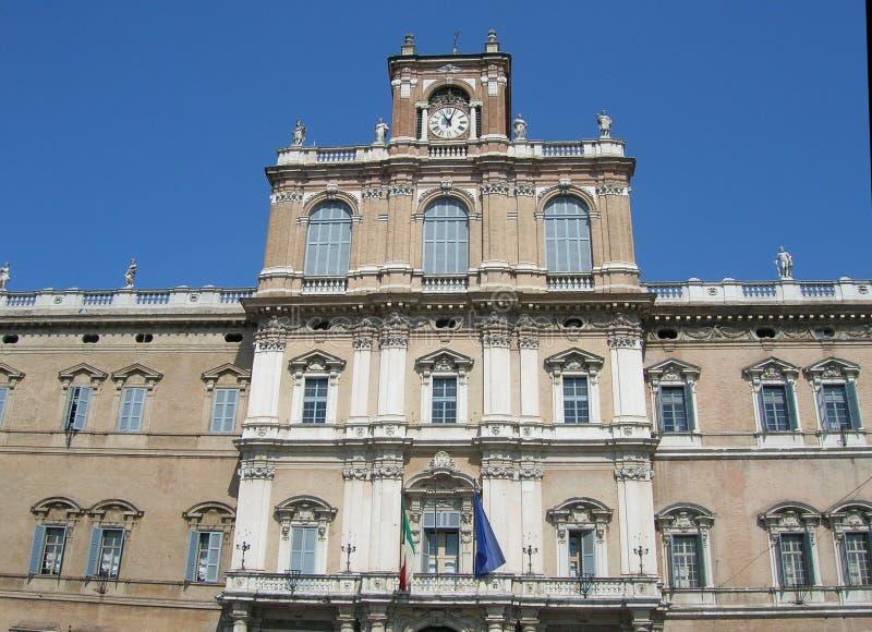 Modena Palazzo Arkivfoton