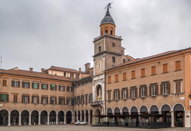 ModenaRathaus, Italien stockbild
