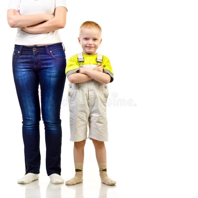 Moder och barn arkivbilder
