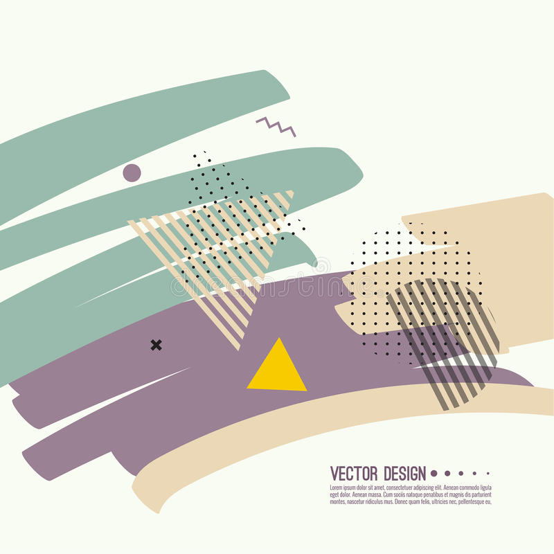 moderiktig abstrakt bakgrund stock illustrationer