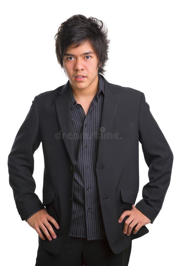 moderiktig asiatisk tonåring royaltyfri bild