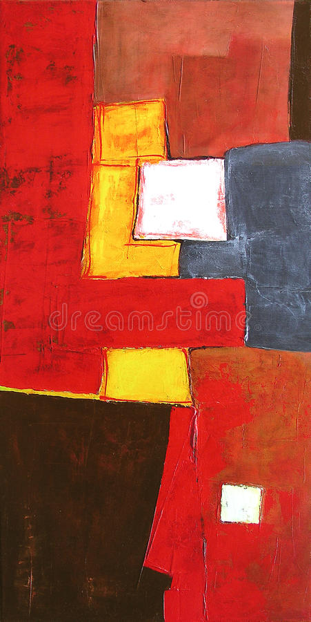 Free Modern Abstract Art - Painting - Background Stock Photos - 17921523