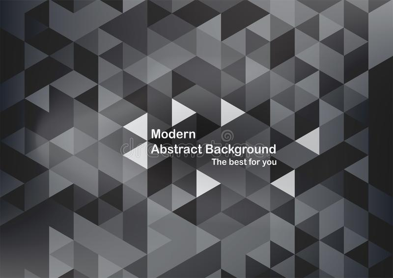 Modern abstract background in polygon shape. Template design in stock illustration