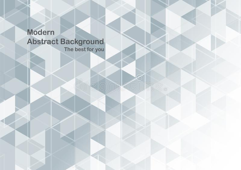 Modern abstract background in polygon shape. Template design in vector illustration