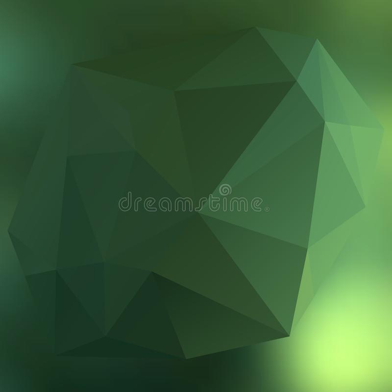 Modern abstract background triangles 3d effect glowing light08 vector illustration
