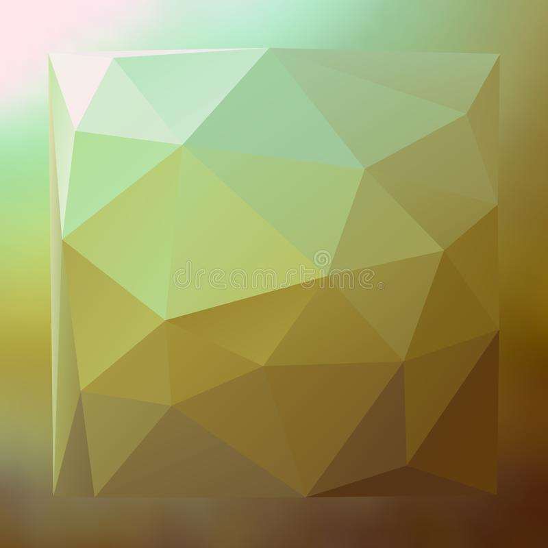 Modern abstract background triangles 3d effect glowing light25 vector illustration