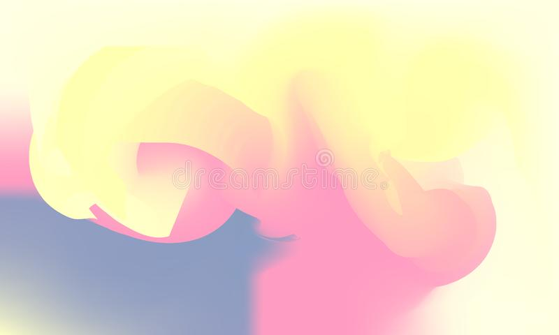 Modern Abstract background wave cloud wallpaper colorful dawn stock photography