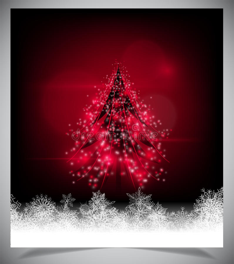Download Modern Abstract Christmas Tree, Eps 10 Stock Illustration - Image: 39967029
