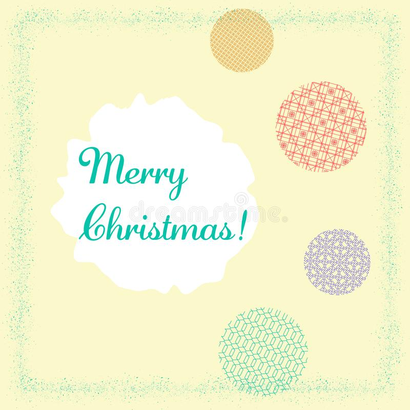 Modern abstract colorful background. Merry christmas vector geometric template. Merry christmas, banner, poster. Winter holiday stock photos