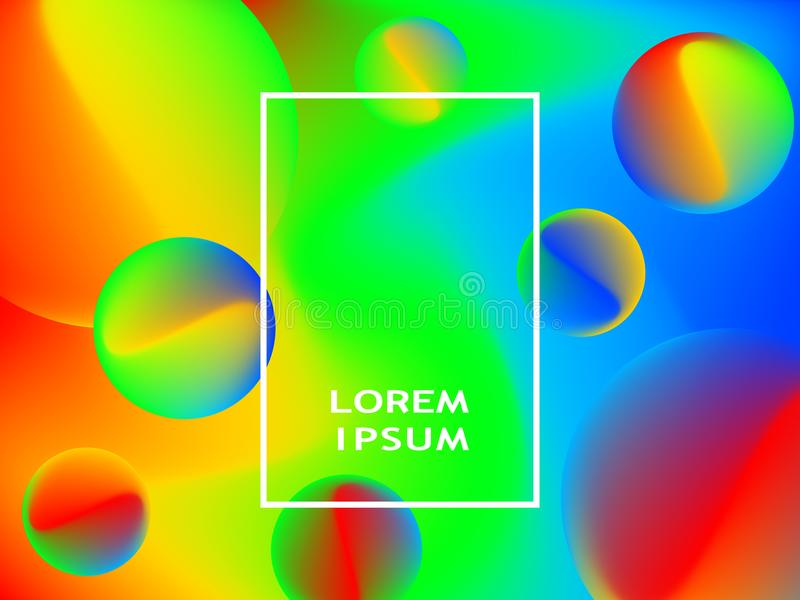 Modern abstract covers set. Cool gradient shapes composition. Modern abstract covers set. Cool gradient shapes n composition stock illustration