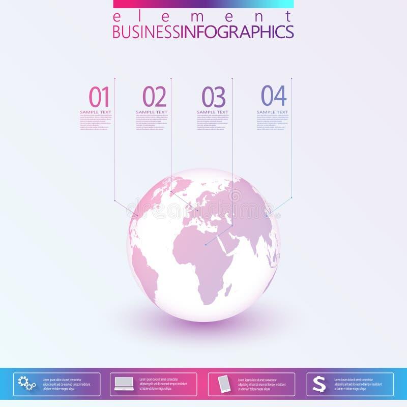 Modern Abstract 3D netwerkmalplaatje infographic met plaats voor uw tekst Kan voor werkschemalay-out, diagram, grafiek, aantal wo royalty-vrije illustratie