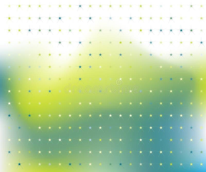 Modern abstract ontwerp royalty-vrije illustratie
