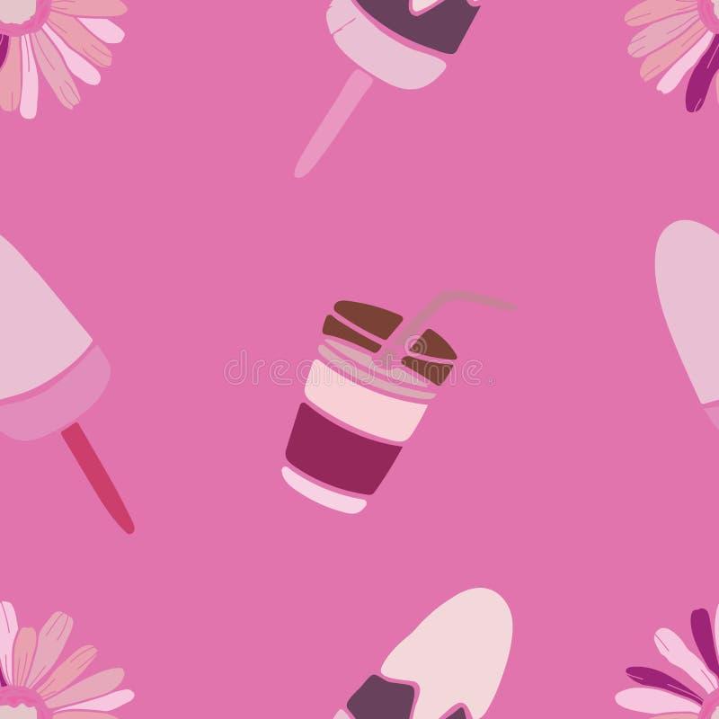 Flowers pattern design royalty free stock image