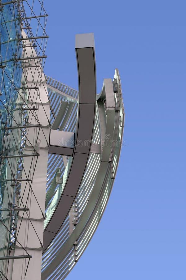 modern abstrakt byggnad royaltyfri foto