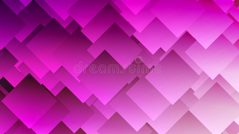 Modern abstrakt färgrik lutningbakgrund med romber, fyrkanter stock illustrationer