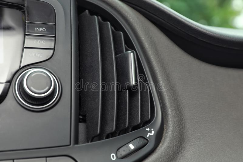 Air Conditioning Control Panel Stock Image - Image of